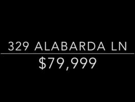 329 Alabarda Lane