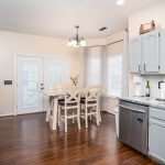 Kitchen with French Doors! Just listed!