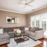 Great Room with French Doors in Dilworth/Selwyn Farms Condo