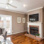 Gas Fireplace in Dilworth/Selwyn Farms Condo