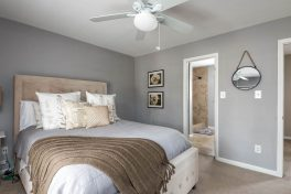 Master Bedroom in Dilworth/Selwyn Farms Condo