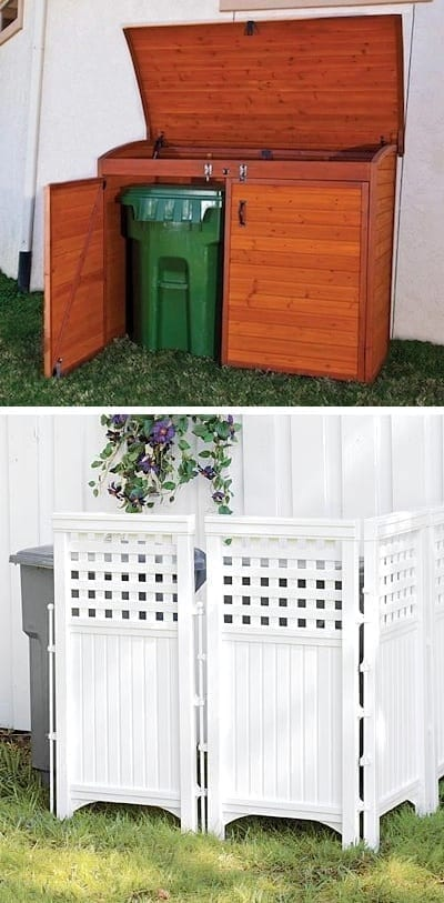 17.-Keep-those-trash-cans-hidden-17-Impressive-Curb-Appeal-Ideas-cheap-and-easy