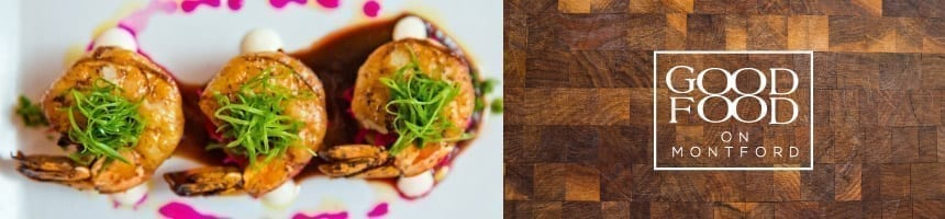 Enjoy delicious small plates at Good Food on Montford