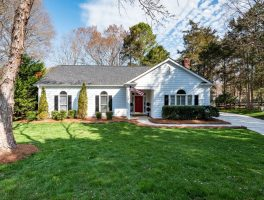 Front of home sold in Cameron Wood