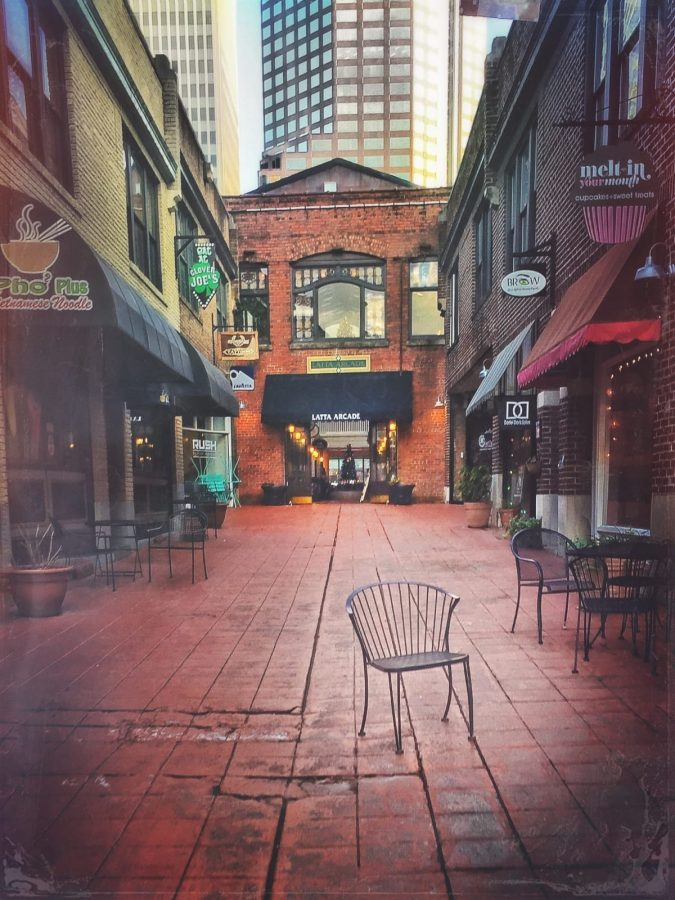 Uptown Charlotte's Four Wards: Latta Arcade